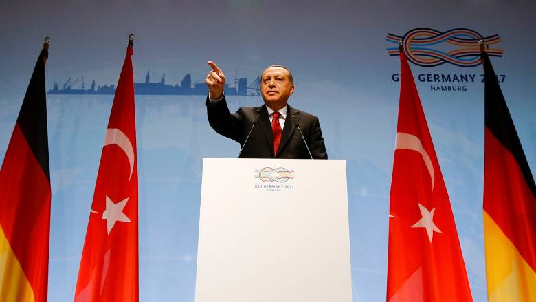G20: Ο Ερντογάν απείλησε να μην επικυρώσει τη Συμφωνία για το Κλίμα