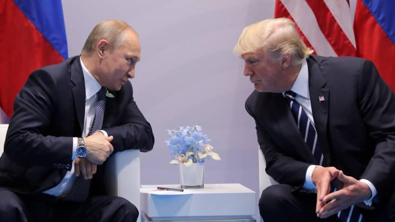 Τραμπ: Πίεσα τον Πούτιν αρκετά - αρνήθηκε με στόμφο εμπλοκή στις εκλογές μας