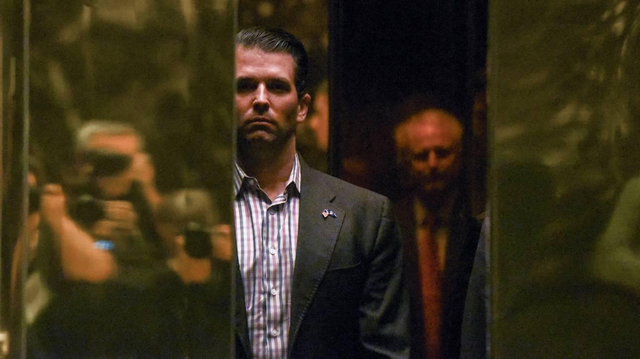 Η μυστική συνάντηση του γιου του Τραμπ με ρωσίδα δικηγόρο πριν από τις προεδρικές εκλογές