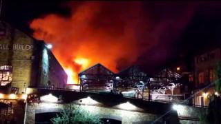 Λονδίνο: Μεγάλη πυρκαγιά τα ξημερώματα στο Camden Market