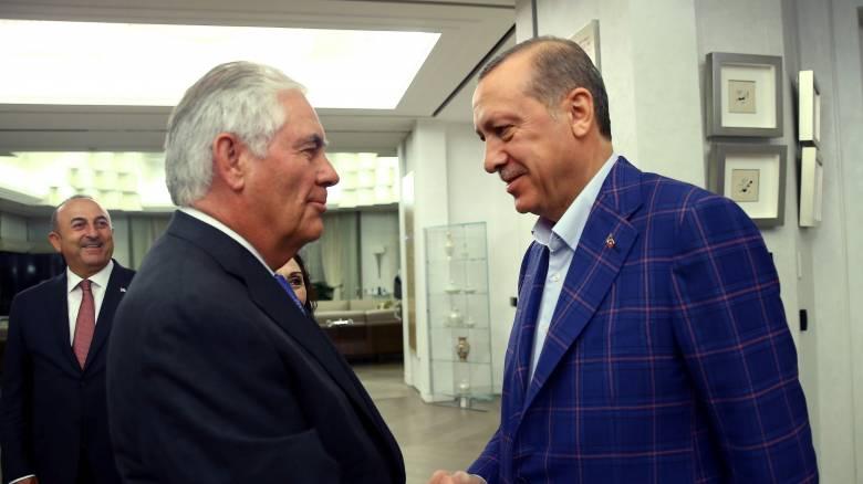 Τίλερσον: ΗΠΑ και Τουρκία αποκαθιστούν τις σχέσεις εμπιστοσύνης τους