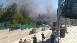 Μυτιλήνη: Αυτός είναι ο λόγος των βίαιων επεισοδίων στη Μόρια (pics&vids)