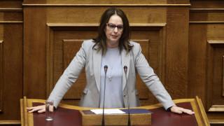 Παπανάτσιου: Θα συνεχίσουμε τους ελέγχους μεγάλων υποθέσεων φοροδιαφυγής