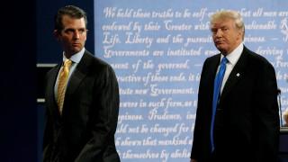 Αναβρασμός στην Ουάσιγκτον από τις αποκαλύψεις για τον γιο του Ντόναλντ Τραμπ
