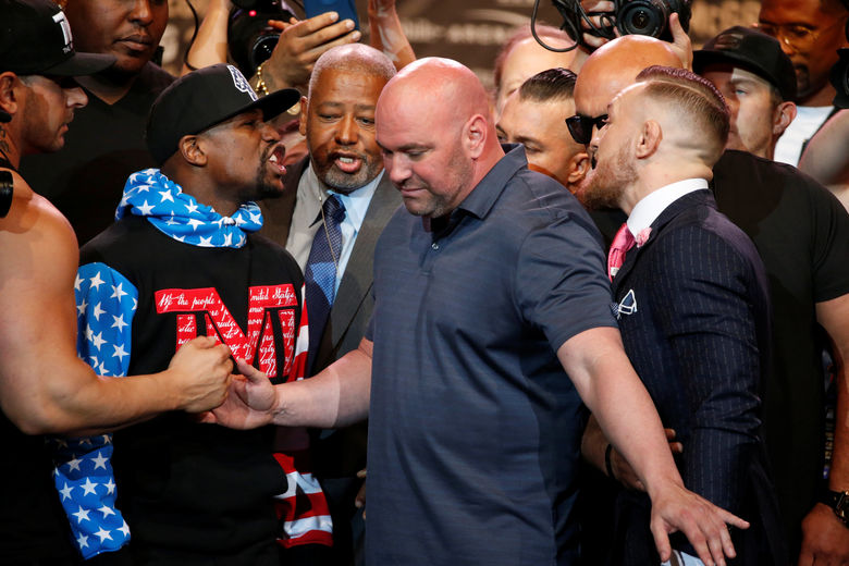 2017 07 11T224909Z 1370574735 RC18CE11C9C0 RTRMADP 3 BOXING MAYWEATHER MCGREGOR