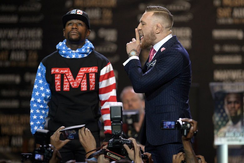 2017 07 11T225126Z 602552282 NOCID RTRMADP 3 BOXING MAYWEATHER VS MCGREGOR WORLD TOUR