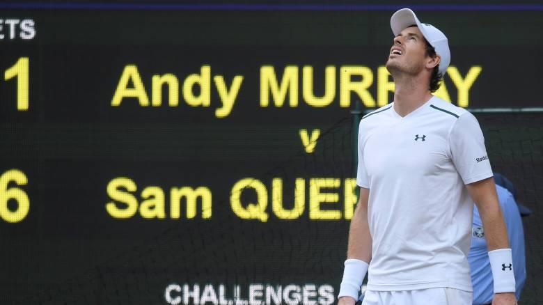 Wimbledon 2017: Εκτός ημιτελικών Μάρεϊ και Τζόκοβιτς (vid)