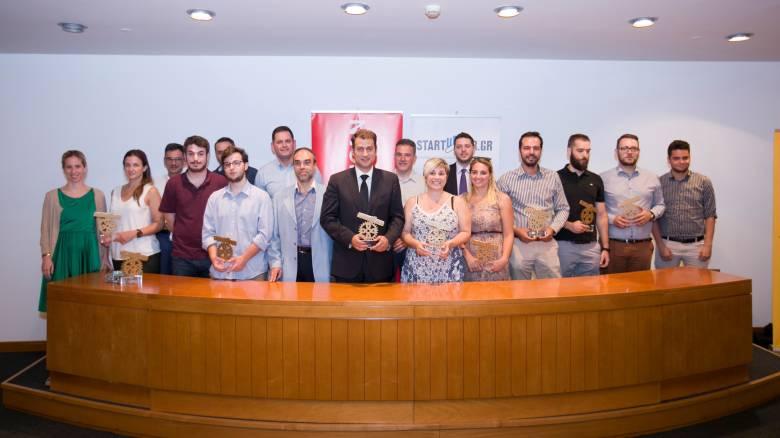 Αναδείχθηκαν οι νικητές των Startupper Awards 2017
