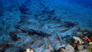 Ίχνη από οκτώ αρχαία ναυάγια εντοπίστηκαν στον βυθό των Φούρνων (pics)