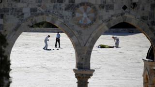 Ιερουσαλήμ: Νεκροί δύο αστυνομικοί από την επίθεση ενόπλων (pics&vid)