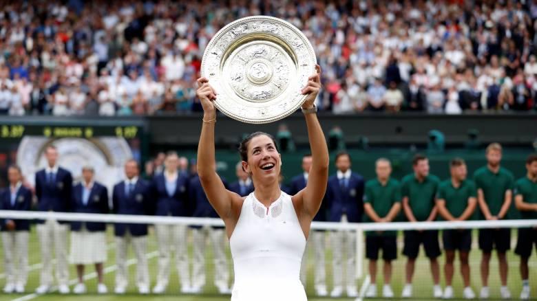 Wimbledon 2017: Θρίαμβος της Μουγκουρούθα στον τελικό με τη Β. Γουίλιαμς (vid)