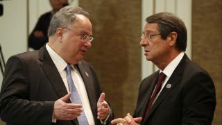 Αναστασιάδης: Ο Κοτζιάς υπήρξε ο θετικότερος των συμμετεχόντων στη διάσκεψη