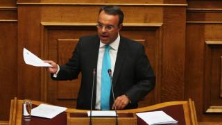 Σταϊκούρας: Πολιτική αλλαγή για να μπει η χώρα σε τροχιά ανάπτυξης