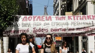 Ένταση έξω από κατάστημα στη Θεσσαλονίκη μεταξύ διαδηλωτών και καταναλωτών (vids)