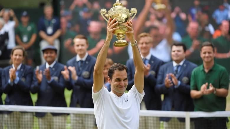 Wimbledon 2017: Ιστορική κατάκτηση του τίτλου από το Ρότζερ Φέντερερ (vid)