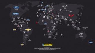 Ποια είναι η εταιρεία που κυριαρχεί στις πωλήσεις στις πιο πολλές χώρες του κόσμου;
