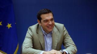 Στo υπουργείο Εργασίας ο Αλέξης Τσίπρας