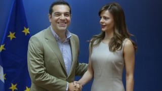 Η επίσκεψη Τσίπρα στο υπουργείο Εργασίας σε εικόνες