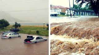 «Μέδουσα»: Χειμώνας μέσα στο καλοκαίρι - Ένας νεκρός και πολλές καταστροφές (pics)