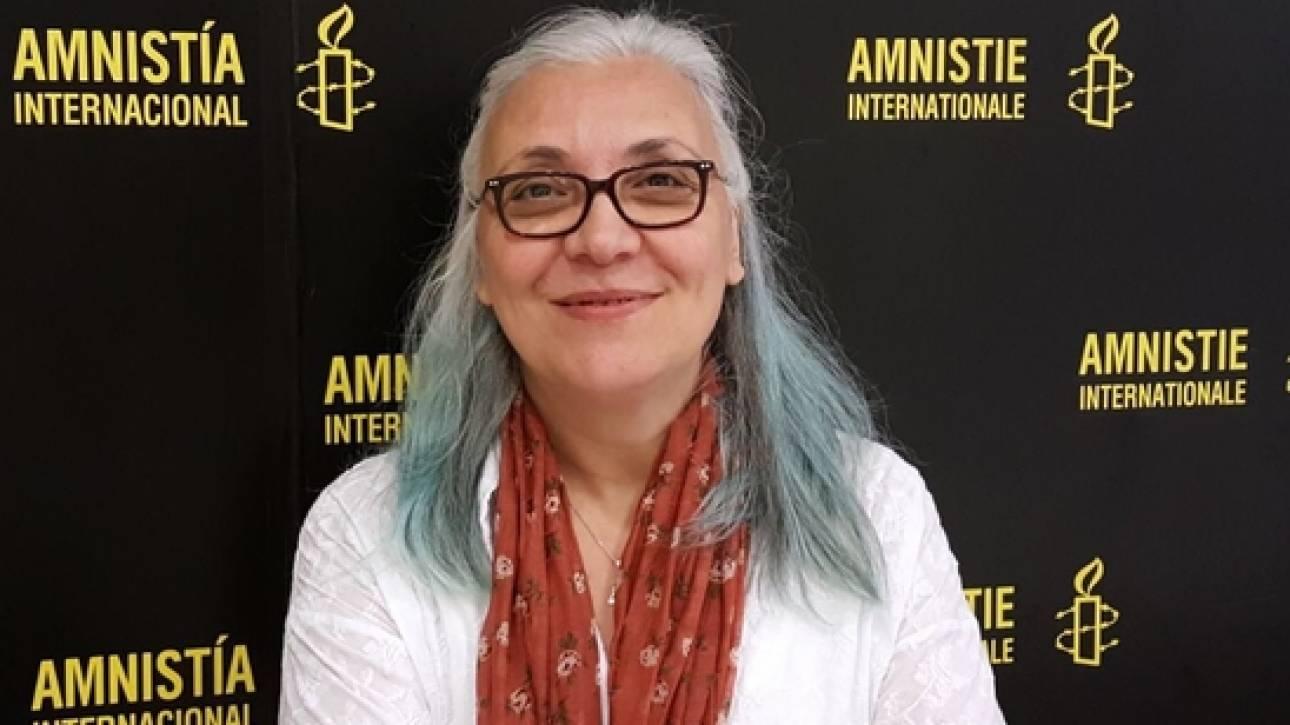 Στον εισαγγελέα οδηγήθηκε η διευθύντρια της Διεθνούς Αμνηστίας στην Τουρκία