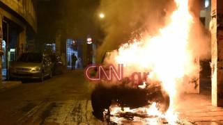 Καταδρομική επίθεση σε διμοιρία στη Χαριλάου Τρικούπη - «Βροχή» οι μολότοφ