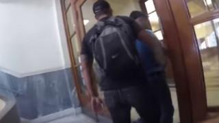Το βίντεο από την εισβολή του Ρουβίκωνα στην Τράπεζα της Ελλάδος