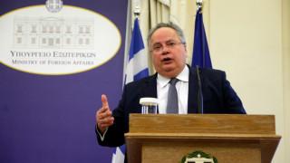 Κοτζιάς: Ελλάδα και Κύπρος θα συνεχίσουν ενωμένες τον αγώνα τους