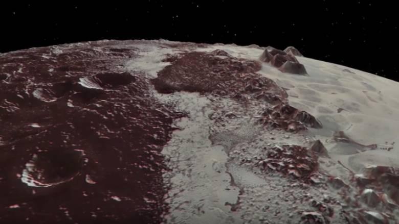 Η NASA δίνει τη δυνατότητα σε όλους να περιηγηθούν στον παγωμένο Πλούτωνα (vid)