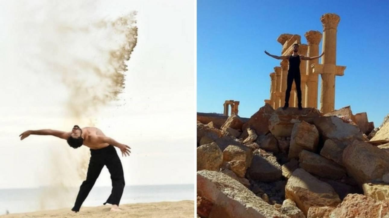 «Χορός ή θάνατος»: Ο χορευτής της Παλμύρας τα κατάφερε...