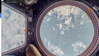 Στον Διεθνή Διαστημικό Σταθμό (ISS) το Google Street View