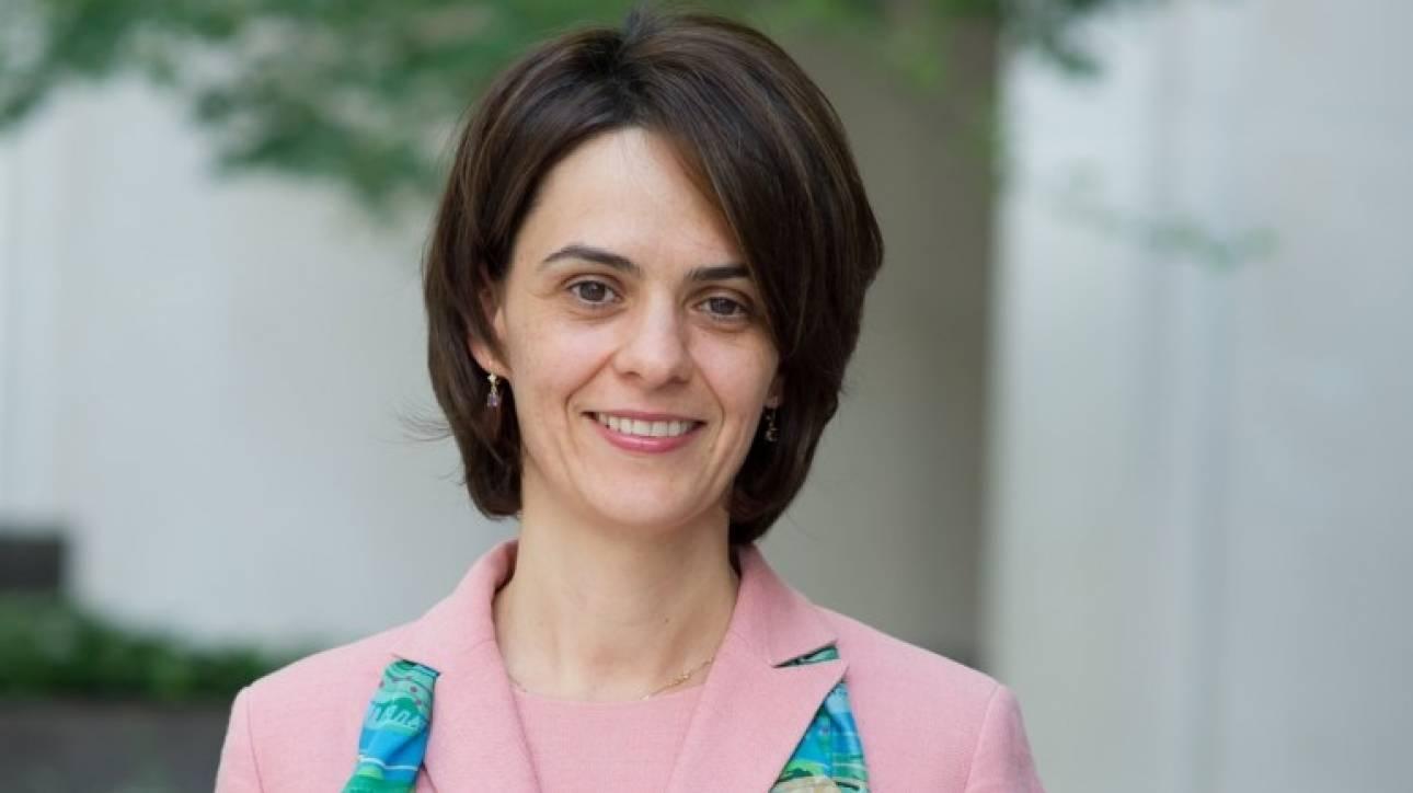 «Σύντομα» συμφωνία για το χρέος βλέπει η Ντέλια Βελκουλέσκου