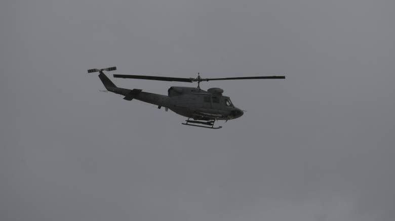 Σεισμός στα Δωδεκάνησα: Στρατιωτικά ελικόπτερα φτάνουν στην Κω για βοήθεια
