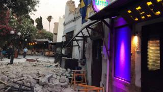 Σεισμός στα Δωδεκάνησα: Οι πρώτες φωτογραφίες με το φως της ημέρας από την Κω