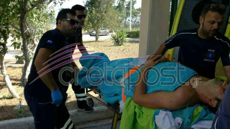 Σεισμός στην Κω: Οι πρώτες φωτογραφίες των τραυματιών που μεταφέρθηκαν στην Κρήτη