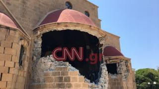 Σεισμός Κως: Κατέρρευσε το Ιερό του Μητροπολιτικού Ναού του Αγ. Νικολάου (pics)