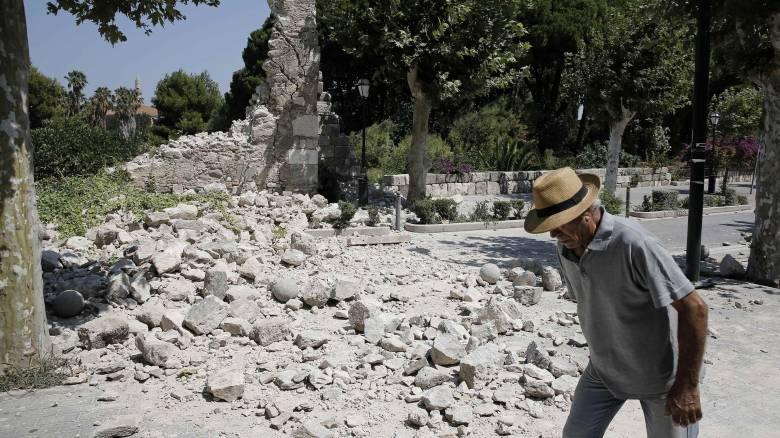Σεισμός Κως: 6,6 Ρίχτερ ήταν τελικώς το μέγεθος του εγκελάδου