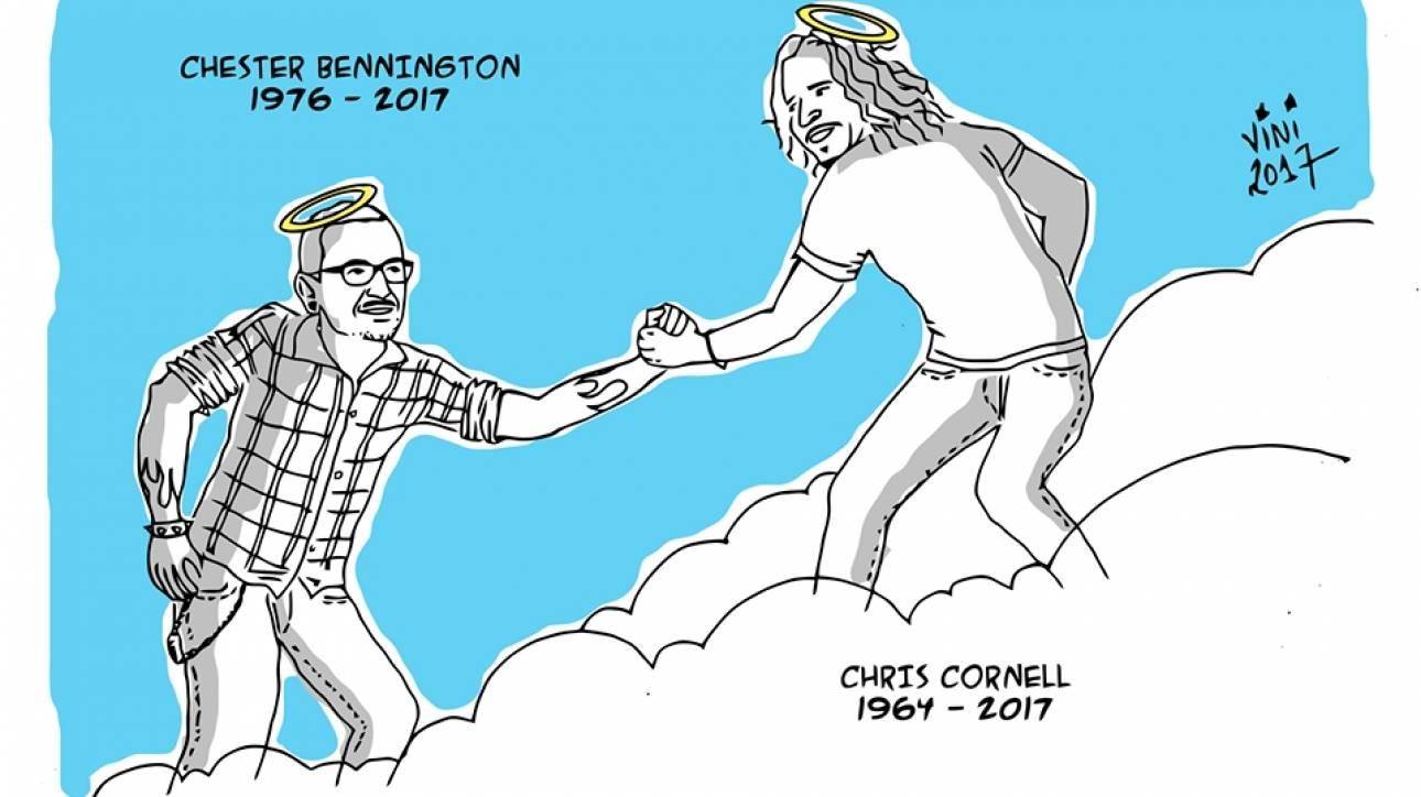 Chester Bennington: Αυτοκτόνησε ανήμερα των γενεθλίων του Κρις Κορνέλ