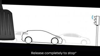 Tο καινούργιο Nissan Leaf θα έχει ένα πεντάλ για γκάζι και φρένο
