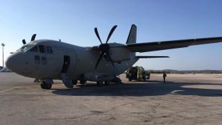 Σεισμός στα Δωδεκάνησα: Η στιγμή της αεροδιακομιδής των τραυματιών (pics)
