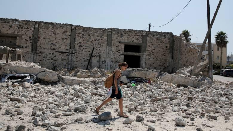 Σεισμός Κω: Συγκλονιστικό βίντεο λίγα λεπτά μετά τον φονικό σεισμό