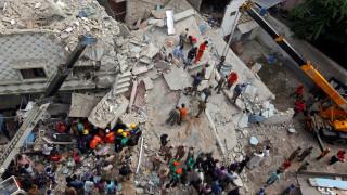Σαγκάη: Πέντε νεκροί από κατάρρευση τριώροφου κτιρίου