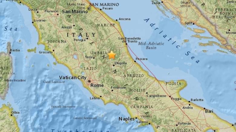 Ιταλία: Σεισμός 4,2 Ρίχτερ κοντά στο Αματρίτσε