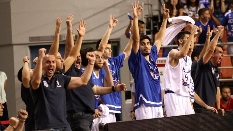Eurobasket U20: Με θρίαμβο επί της Ισπανίας στον τελικό η Ελλάδα