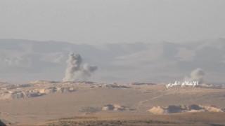 Αεροπορικές επιδρομές της Συρίας σε περιοχές που δρουν αντάρτες