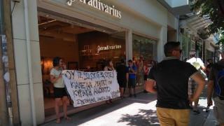 Διαμαρτυρία στη Θεσσαλονίκη για τη λειτουργία καταστημάτων τις Κυριακές (pics)