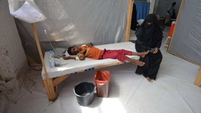 Υεμένη: Αναμένονται 600.000 κρούσματα χολέρας το 2017
