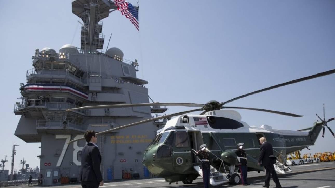 Το νέο αεροπλανοφόρο των ΗΠΑ μπορεί να πλέει 20 χρόνια χωρίς ανεφοδιασμό (pics&vid)