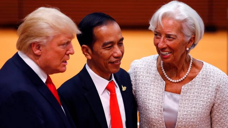 Χαμηλότερη ανάπτυξη σε ΗΠΑ και Βρετανία βλέπει το ΔΝΤ