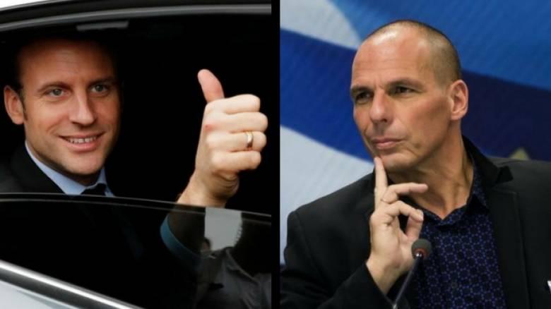 Νέες αποκαλύψεις Βαρουφάκη: Ο άγνωστος ρόλος του Μακρόν στις διαπραγματεύσεις του '15