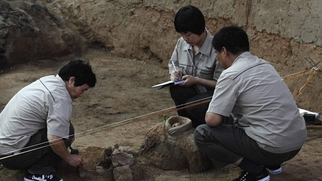Σημαντική αρχαιολογική ανακάλυψη στην Κίνα